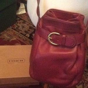 COACH Vintage Crossbody mini bucket bag